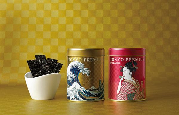 東京プレミアムおつまみ海苔2缶詰合せ