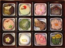 お正月用上生菓子