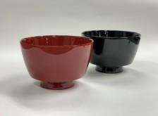 「汁椀(溜/朱)」(木製・漆塗)