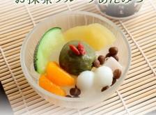 【季節限定】お抹茶フルーツあんみつ 単品